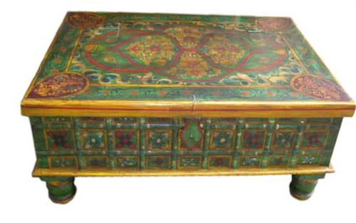Indian Style Painted Furniture, Indian Style Furniture