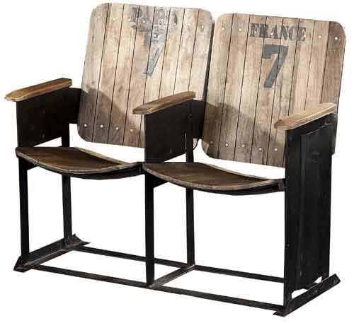 Iron Industrial Chair Set Of 2 ...